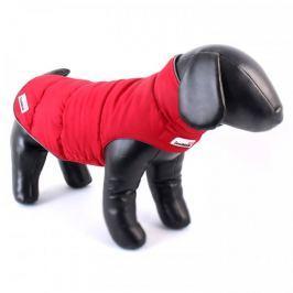 Doodlebone Oboustranná zimní bunda Red/Grey vel. L