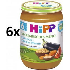 HiPP BIO Kuskus se zeleninou - 6x190g
