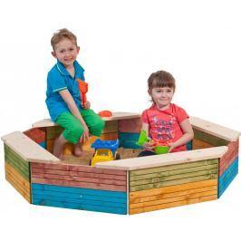 Woody Pískoviště dřevěné, barevné - II. jakost