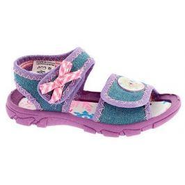 Disney by Arnetta dívčí sandály Frozen 21 modrá