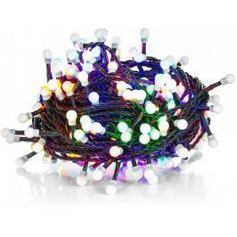 Retlux Vánoční řetěz 200LED kuličky multicolour - II. jakost