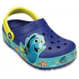 Crocs CrocsLights Finding Dory Clog K Cerulean Blue/Lemon 23-24 (C7)
