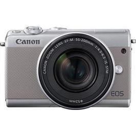 Canon EOS M100 Body, šedá - II. jakost