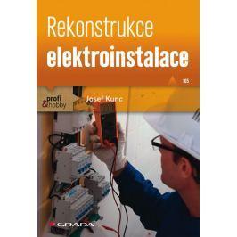 Kunc Josef: Rekonstrukce elektroinstalace
