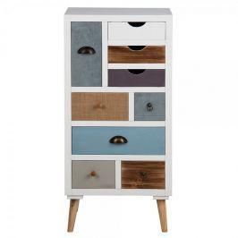 Design Scandinavia Komoda s 9 zásuvkami Thess, 98 cm