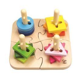 Hape Kreativní dřevěné puzzle