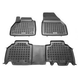 REZAW-PLAST Gumové koberce, sada 3 ks (2x přední, 1x spojený zadní), Renault Kangoo od r. 2008