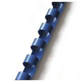 Hřbet pro kroužkovou vazbu 28,5 mm modrý / 50 ks