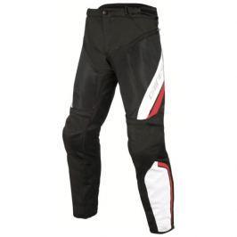 Dainese pánské kalhoty DRAKE AIR D-DRY vel.50, textil, černá/bílá/červená