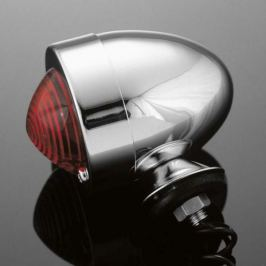 Highway-Hawk světlo na motorku  BULLET s krátkou nožičkou, chrom (1ks)