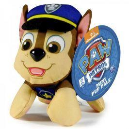 Spin Master Paw Patrol Plyšová postavička Chase 10 cm modrá