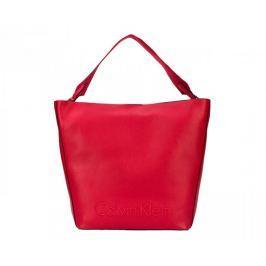 Calvin Klein Dámská kabelka Edge Seasonal Large Red