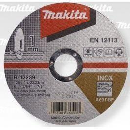 Makita Kotouč řezný nerez 125x1x22,23 (B-12239)