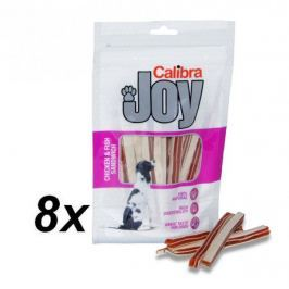Calibra Joy Dog Chicken & Fish Sandwich 8 x 80 g