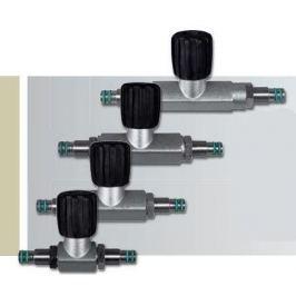 SCUBATECH Ventil-můstek uzavíratelný 300 Bar, 140 mm