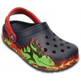 Crocs CrocsLights Fire Dragon Clog K Navy 23-24 (C7)