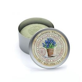Somerset Toiletry Luxusní tuhé mýdlo se zahradní vůní v plechové krabičce (Triple Milled Luxury Soap) 150 g