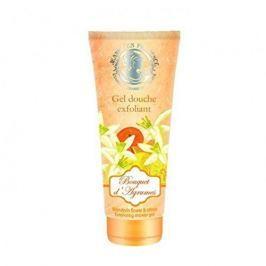 Jeanne En Provence Peelingový sprchový gel Mandarinkové květy a citron (Exfoliating Shower Gel) 200 ml