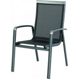 RIWALL Forios - hliníková stohovatelná židle