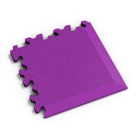 Fortelock Fialový plastový vinylový rohový nájezd 2026 (kůže) - 14 x 14 x 0,7 cm