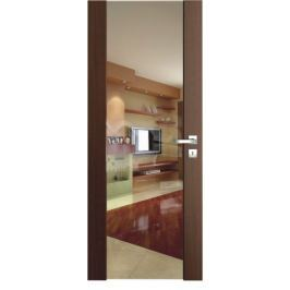 VASCO DOORS Interiérové dveře VENTURA ČIRÉ sklo, Ořech, A