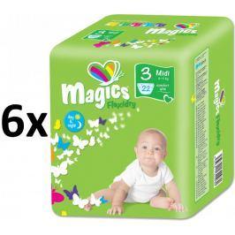 Magics Flexidry Midi (4-9kg) Megapack - 132ks