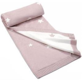Mamas&Papas Pletená deka Millie & Boris růžová