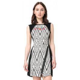 Desigual dámské šaty Oregon 36 černá