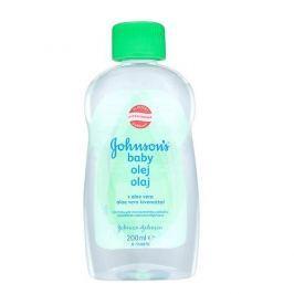 Johnson&Johnson Olej s aloe vera Baby 200 ml