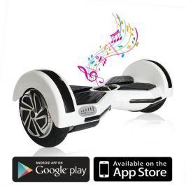 Kolonožka Premium s mobilní aplikací a BT reproduktorem, bílá