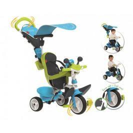 Smoby Tříkolka Baby driver Confort modrozelená