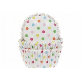 House of Marie Papírový košíček na muffiny puntíkovaný 50ks