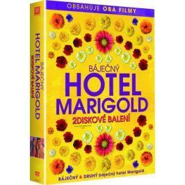Báječný hotel Marigold 1+2   - DVD