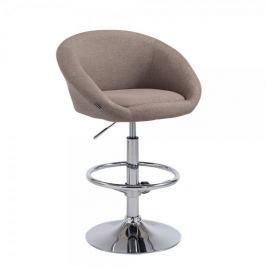 BHM Germany Barová židle Miranda, taupe
