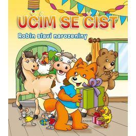 Robin slaví narozeniny - Učím se číst