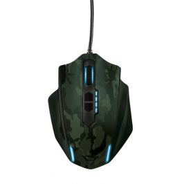 Trust GXT 155C Gaming Mouse - green (20853)