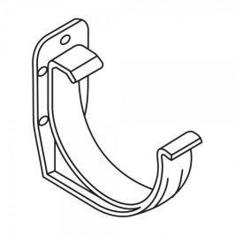 LanitPlast PVC hák RG 125 půlkulatý bílá barva