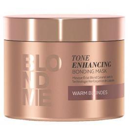 Schwarzkopf Prof. Vyživující maska pro zvýraznění teplých blonďatých odstínů BLONDME (Tone Enhancing Bonding Mask Warm