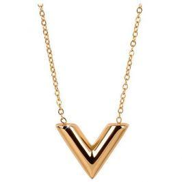 Troli Pozlacený náhrdelník s přívěskem ve tvaru