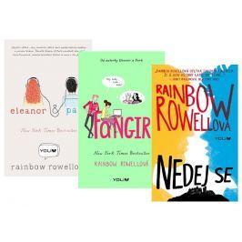 Rowellová Rainbow: Komplet Nedej se + Fangirl + Eleanor a Park