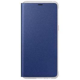 Samsung Flipové neonové pouzdro pro A8 2018, EF-FA530PLEGWW, Blue
