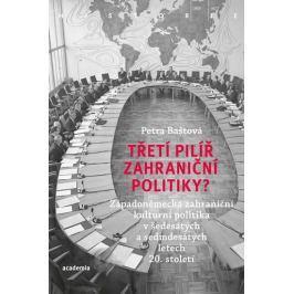 Baštová Petra: Třetí pilíř zahraniční politiky? - Západoněmecká zahraniční kulturní politika v šedes