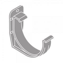 LanitPlast PVC hák RG 125 půlkulatý šedá barva