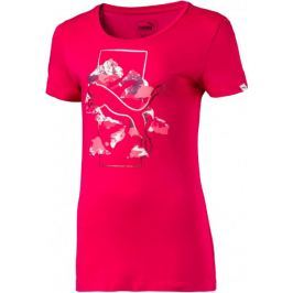 Puma Style Graphic Tee Hot Coral 110