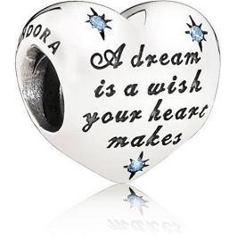 Pandora Překrásný korálek Disney Popelčin sen 791593CFL stříbro 925/1000