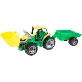 LENA Traktor se lžící a přívěsem, 110 cm
