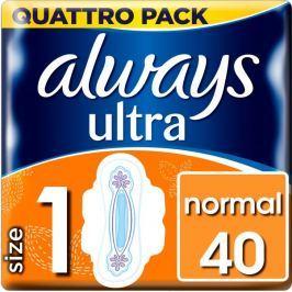Always Ultra Normal Vel.1 Hygienické vložky skřidélky 40ks