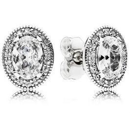 Pandora Třpytivé stříbrné náušnice 296247CZ stříbro 925/1000