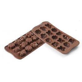 Silikomart Silikonová forma na čokoládu – jarní zahrada