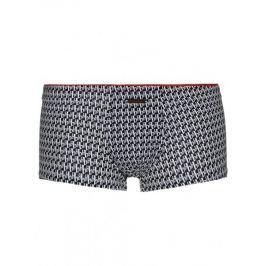 Bruno Banani černé boxerky Hipshort Monogram BB - Velikost: S